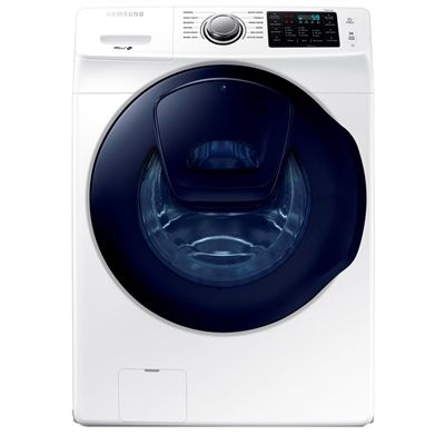 Samsung 4.5-cu ft High-Efficiency Stackable Front-Load Washer with AddWash (White) ENERGY STAR
