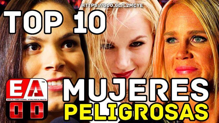TOP 10 MUJERES MAS PELIGRLOSAS DEL MUNDO UFC