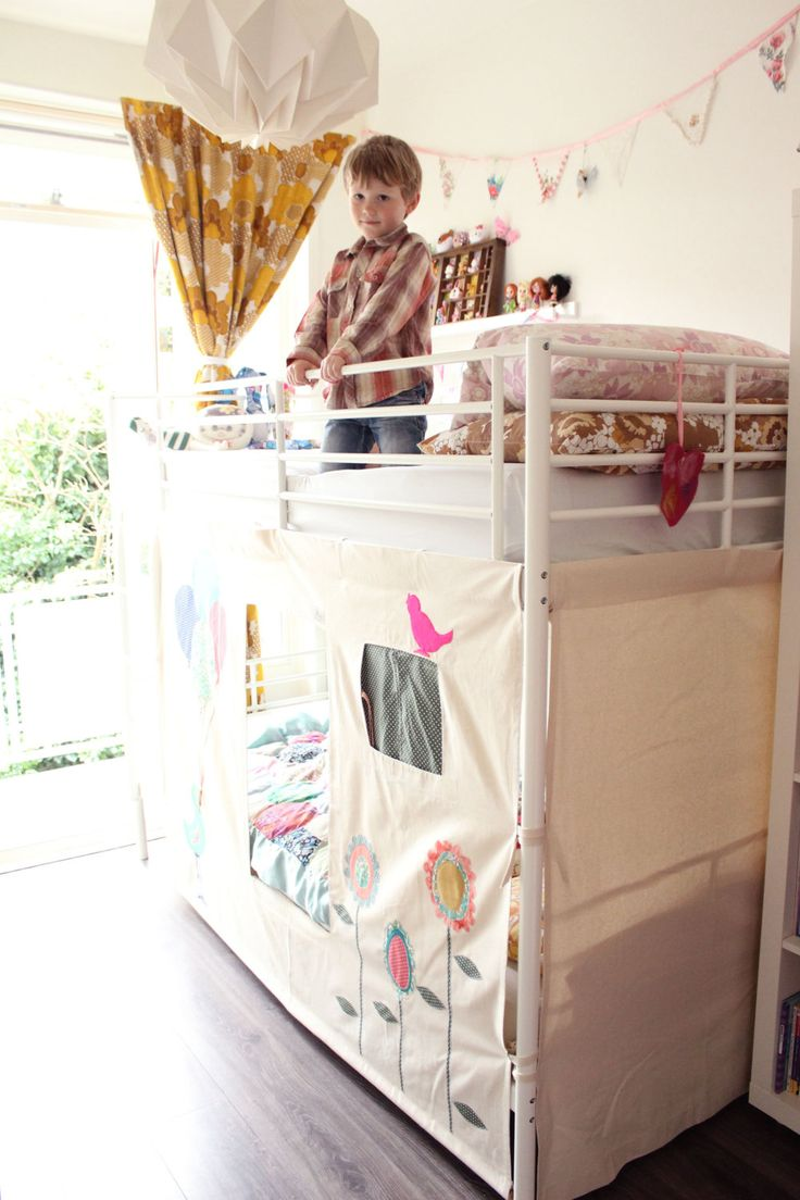 Pretty princess high sleeper playhouse bed - Best 10 Bunk Bed Tent Ideas On Pinterest Bunk Bed Canopies Ikea Kids Tent And Ikea Boys Bedroom