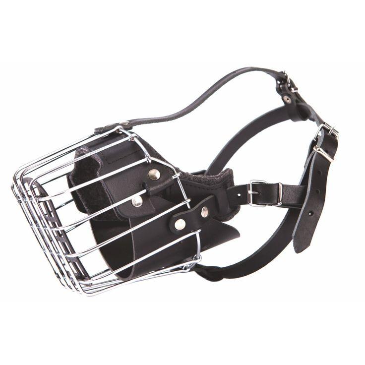 Kaganiec metalowy wzmocniony dla psa rasy Rottweiler
