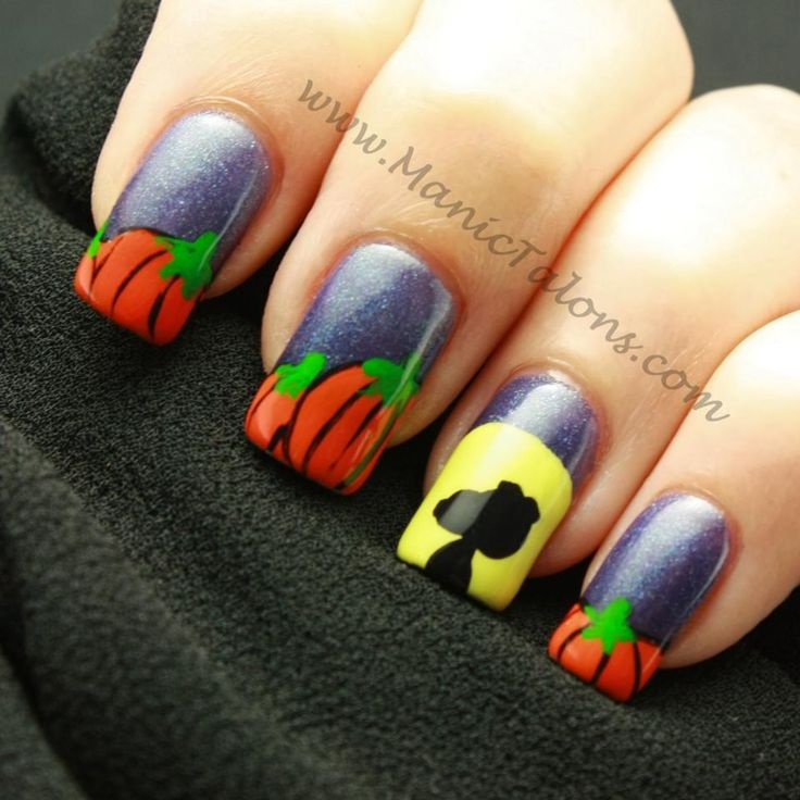 Nail Colors Halloween: 10+ Images About Halloween Nail Art Contest! On Pinterest