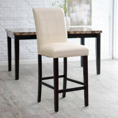 Avorio 30 Inch Bar Stool - Ivory