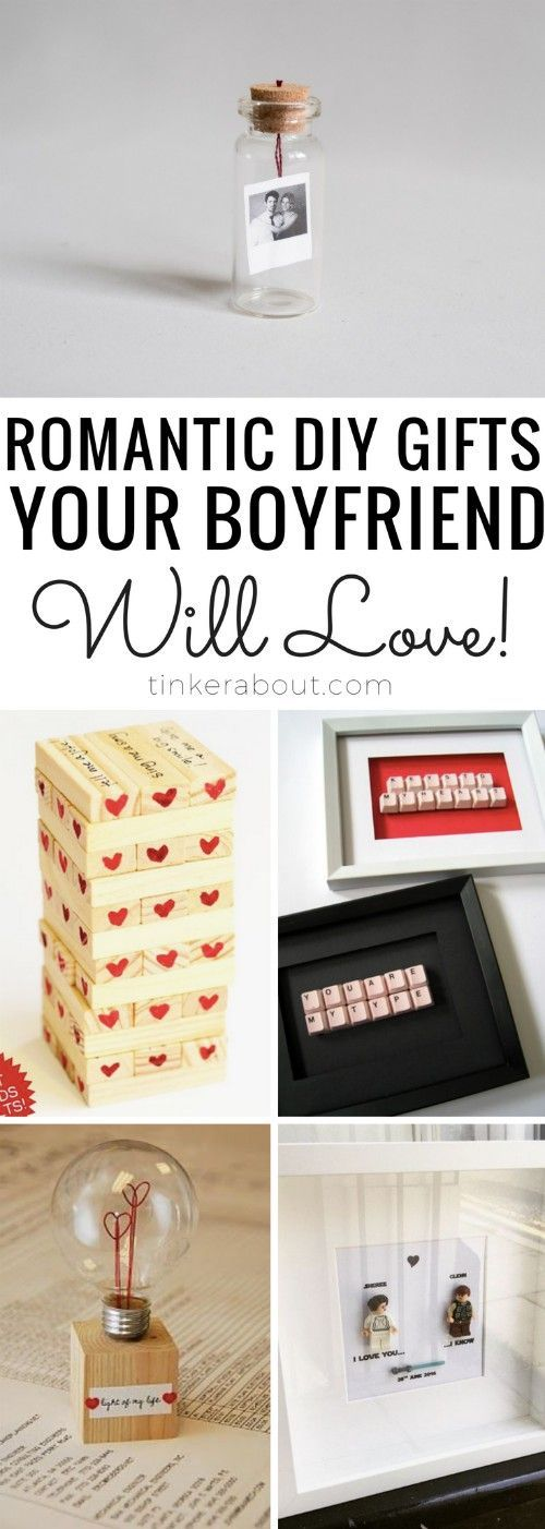 17 DIY Gifts For Boyfriends (Ideal For Anniversaries & Valentine's Day)