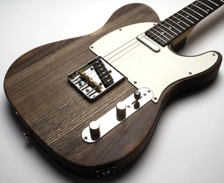 Slick SL51 Aged Brown Woodgrain Dual Telecaster Pickups
