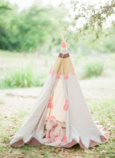 every child deserves a really great #teepee    Photography by taylorlordphotography.com, Styling by http://www.lindseyzamora.com  Read more - http://www.stylemepretty.com/2013/08/15/a-perfect-family-session-with-taylor-lord-lindsey-zamora/