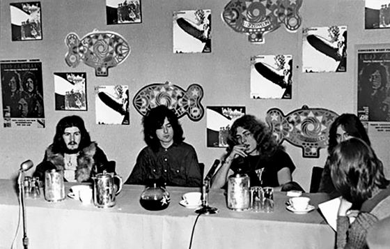 hot-in-the-shade:  Led Zeppelin (Vancouver, 1970)