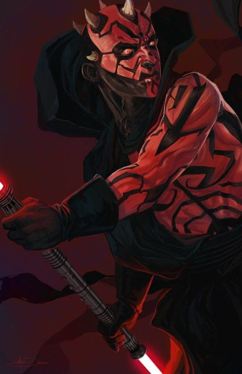 Darth maul by matt demino this and many more star wars prints products here