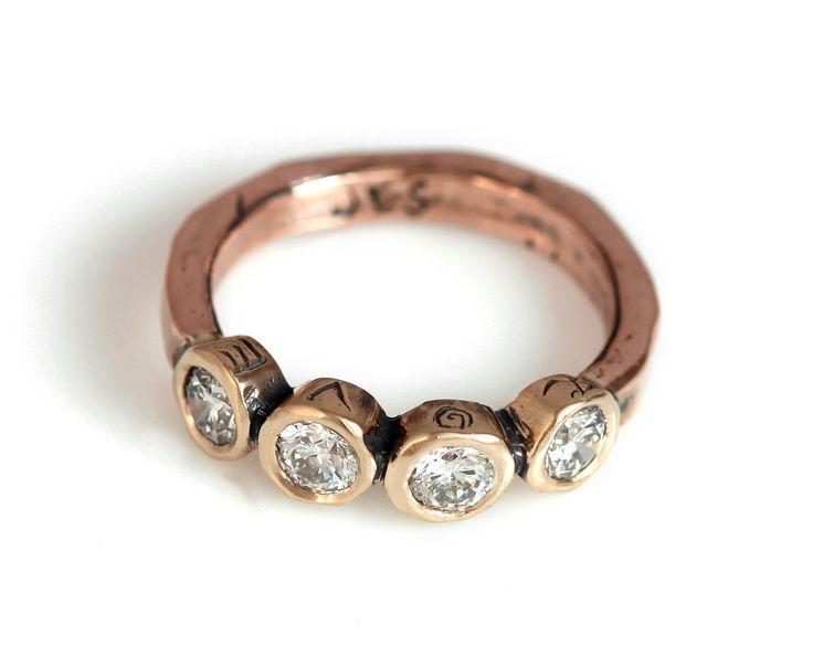 Diamond Amore Ring | Jes MaHarry Jewelry