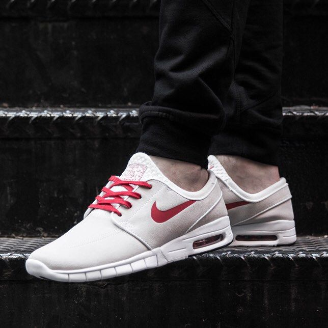 sports shoes 13f9c 12a7f Nike SB Stefan Janoski Max Summit WhiteVarsity Red  styles  Nike shoes,  Sneakers, Shoes