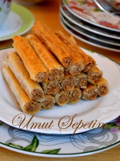 Umut Sepeti – Pratik Yemek Tarifleri – Tarifi Merakla Beklenen Tahinli Çıtırlar :)