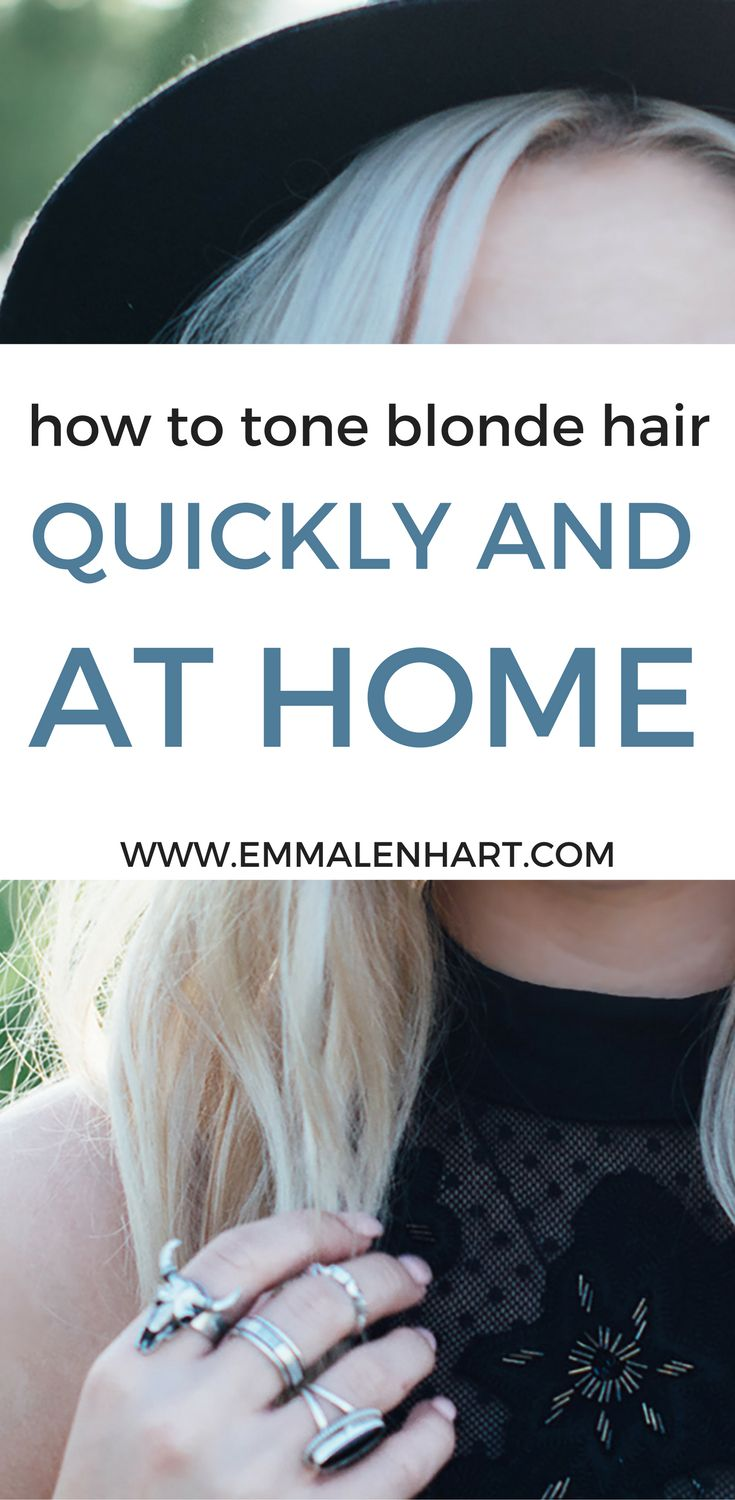 how to fix yellow hair without toner