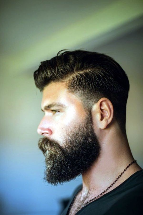 Superb 1000 Images About Fade Haircuts With Beard On Pinterest Men Short Hairstyles Gunalazisus