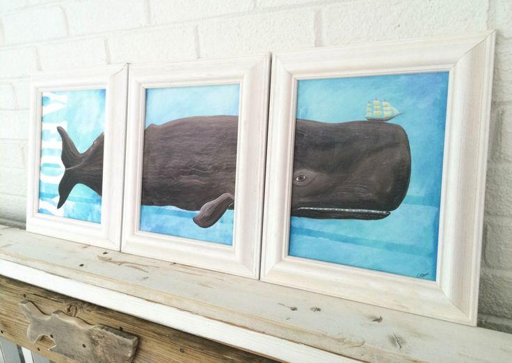 Whale Decor Framed Triptych Whale Art Beach Decor Beach Kids Room Beach Baby Nursery Whale Baby Nursery Christina Rowe Beach Art Mangoseed by mangoseed on Etsy https://www.etsy.com/listing/238529850/whale-decor-framed-triptych-whale-art