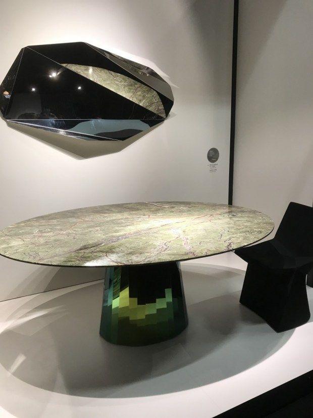 Designaresse bij IMM Cologne 2018