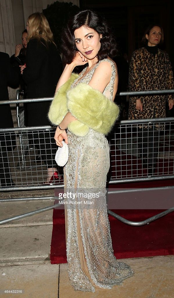 marina and the diamonds at brit awards 2015