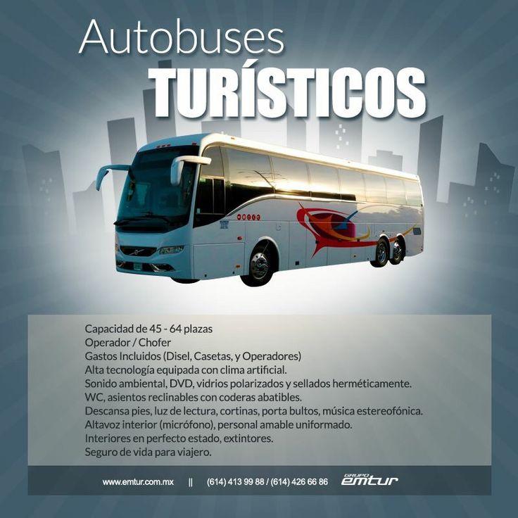 Autobuses ejecutivos  Transporte vip  614 426 66 86