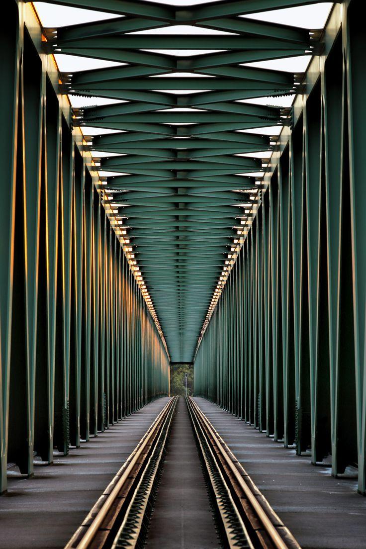 Photography~Railroad Bridge By Gabor Jonas