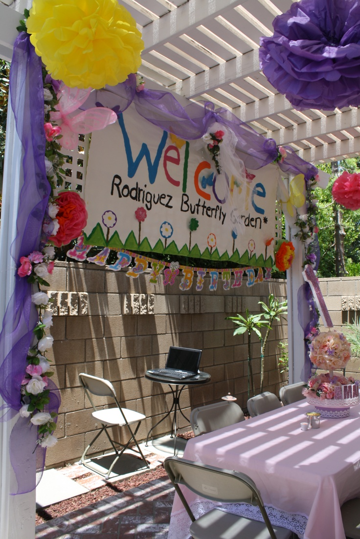1000 Images About Butterfly Birthday Party On Pinterest
