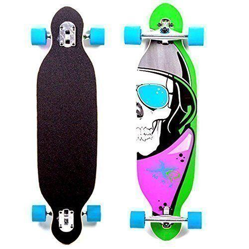 Sale Preis: XQ Max Totenköpfe Longboard Cruiser Langes Skateboard Strand Doppel Spitze 96.5cm Blau Mit Rädern. Gutscheine & Coole Geschenke für Frauen, Männer & Freunde. Kaufen auf http://coolegeschenkideen.de/xq-max-totenkoepfe-longboard-cruiser-langes-skateboard-strand-doppel-spitze-96-5cm-blau-mit-raedern  #Geschenke #Weihnachtsgeschenke #Geschenkideen #Geburtstagsgeschenk #Amazon