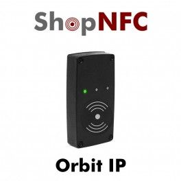 Orbit IP is an Ethernet-based contactless smart card reader for registration, time and attendance monitoring, and access control. Orbit IP is a TCP/IP Ethernet-based RFID terminal for contactless smart cards. It is compliant with ISO 14443 Type A/B (Mifare Classic, Mifare Ultralight, NTAG Series) and ISO 15693 (ISO-CODE SLI) standards. The reader employs a Power over Ethernet connection which eliminates the need for a power outlet. Orbit IP operates as a standalone HTTP web client.