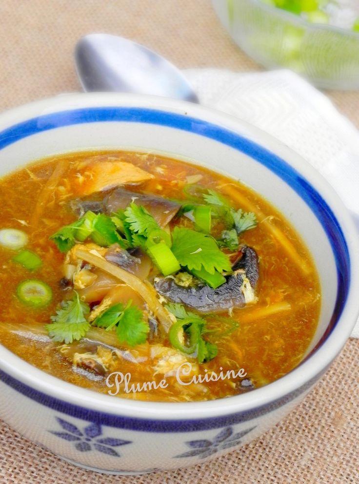 Évasion savoureuse en Chine... La soupe Sechuan (ou Szechuan) est une soupe classique chinoise, et comme son nom l'indique, elle est originaire du Sichuan,