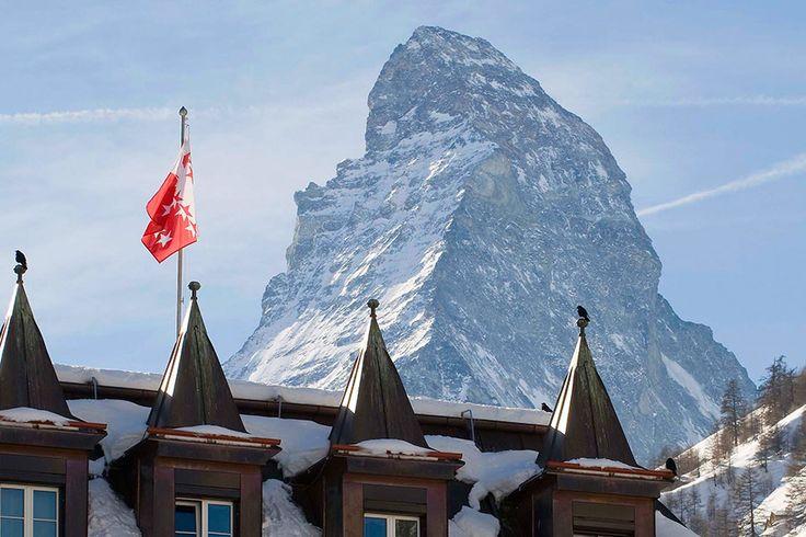mont cervin palace zermatt, switzerland