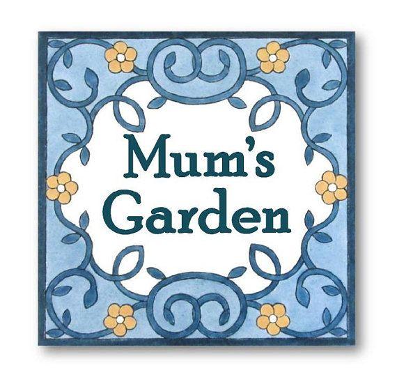 Custom Garden Sign Mum S Garden Mother S Day Gift Gardening