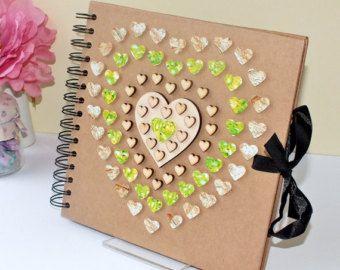 Personalised Scrapbook Album  Photo Album  Baby Scrapbook
