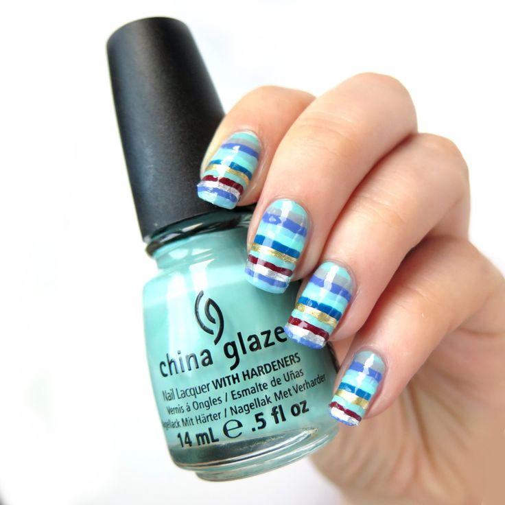 "Moje ""kolory zimy"" na paznokciach #creativenailparty tydzień 1   Cienistość.pl"