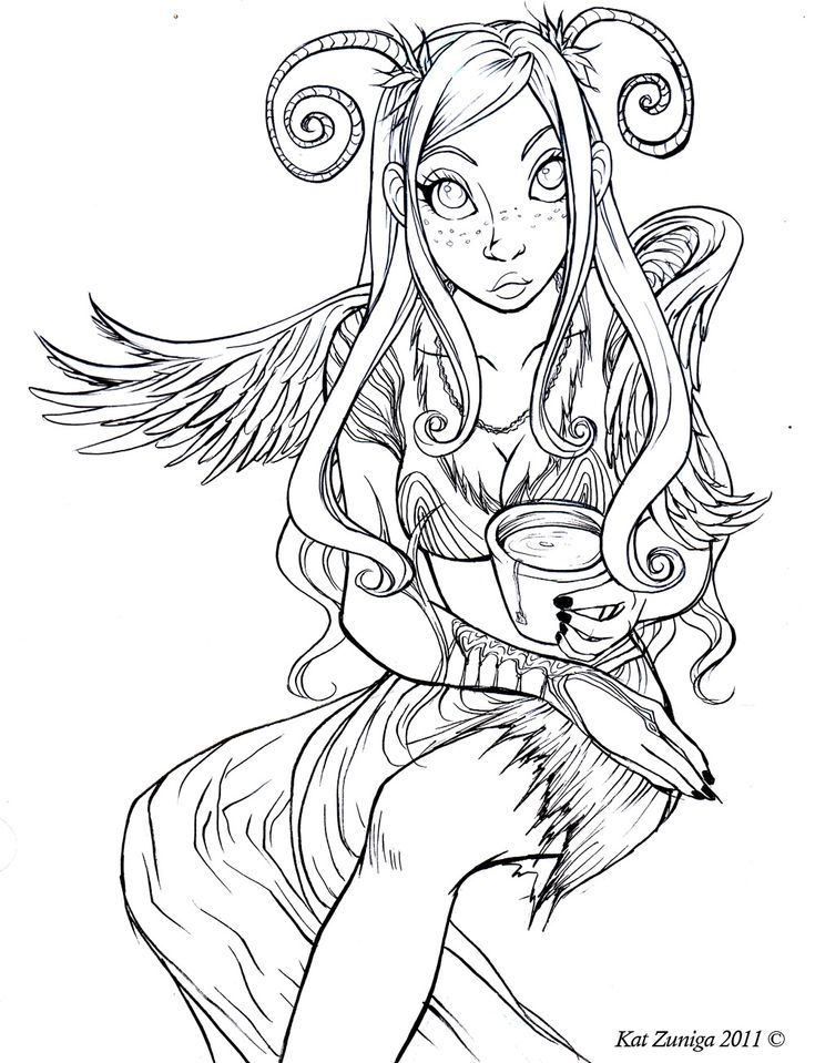 8300 Top Anime Fairy Coloring Pages For Adults  Images