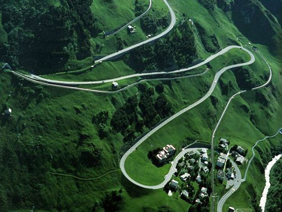 Oberalp Pass -- Switzerland