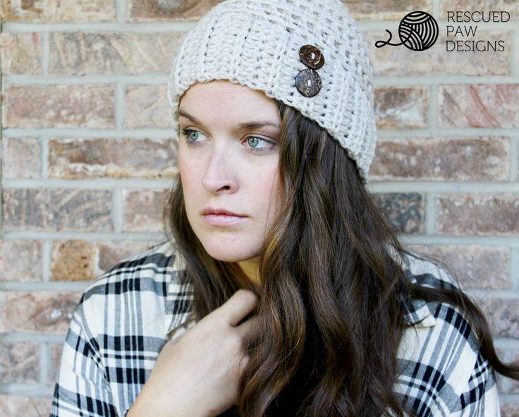 Free Crochet Pattern - The Andy Hat by Rescued Paw Designs #crochet #tutorial #freepattern