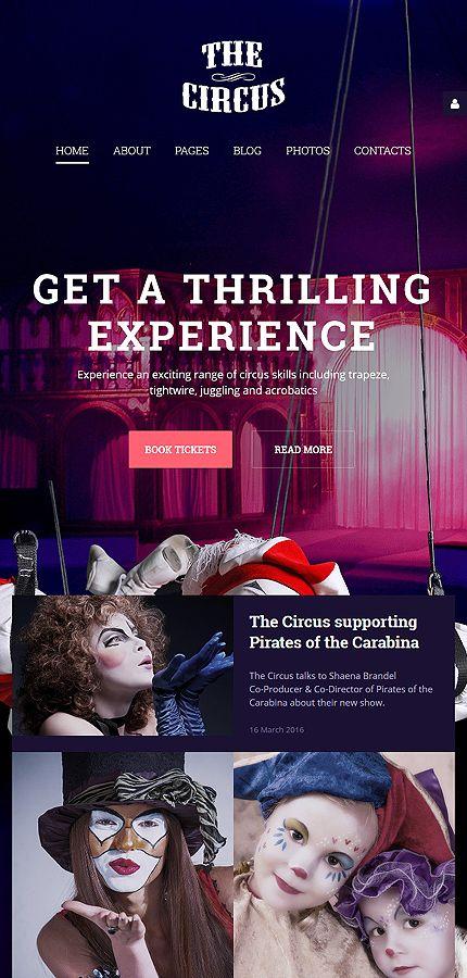 Entertainment •               Espresso Web Inspiration at your Coffee Break!          Joomla • Template #58147