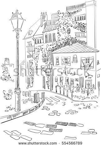 France - Paris,  vector illustration