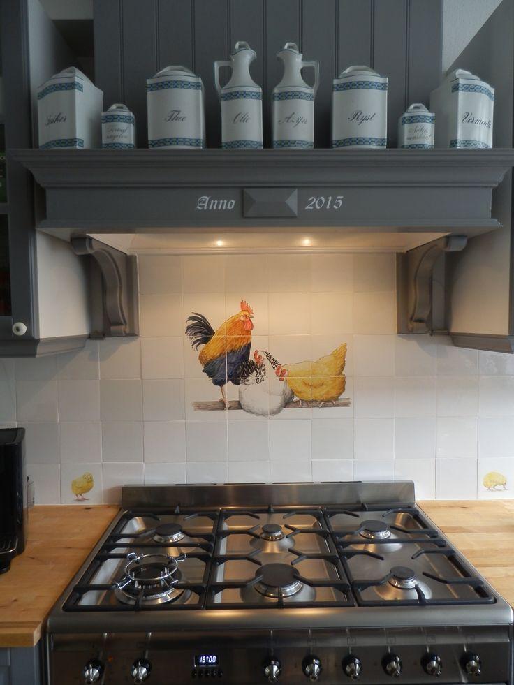 17 beste afbeeldingen van keuken - Tegel keuken oud ...