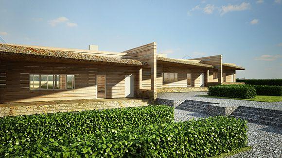 Малоэтажные деревянные дома