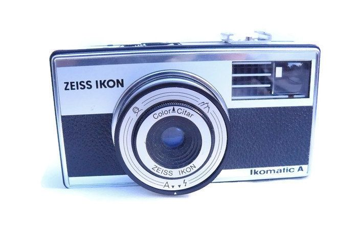 Zeiss Ikon Ikomatic A, Vintage Camera, 126 film Camera, Zeiss Ikon Camera, Viewfinder Camera, 1960s Camera by HarmlessBananasTribe on Etsy