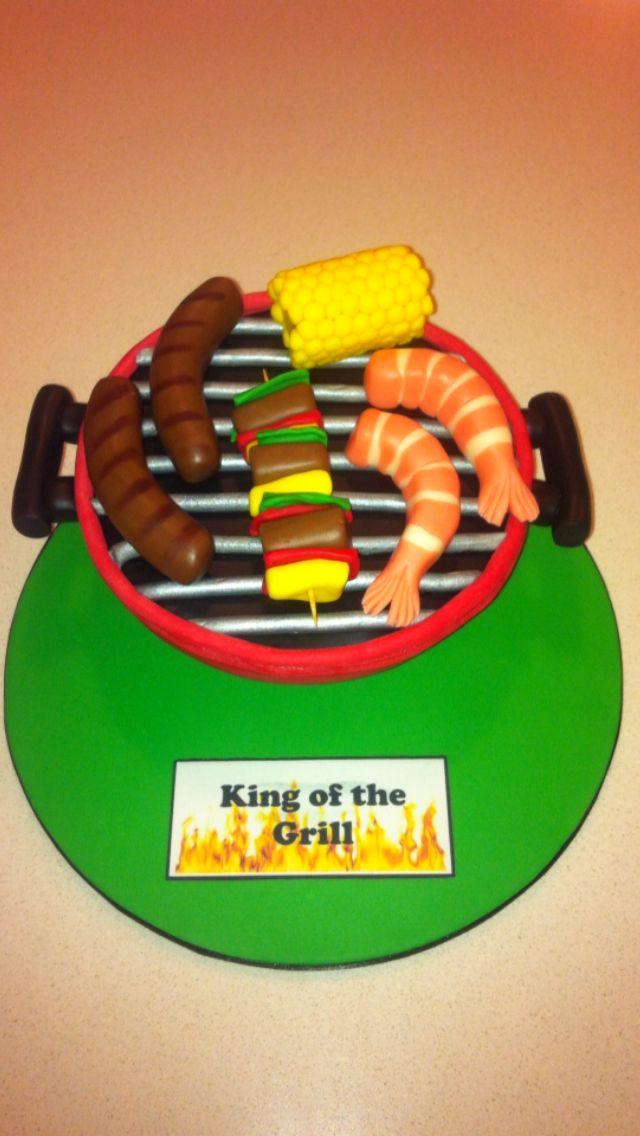BBQ webber cake