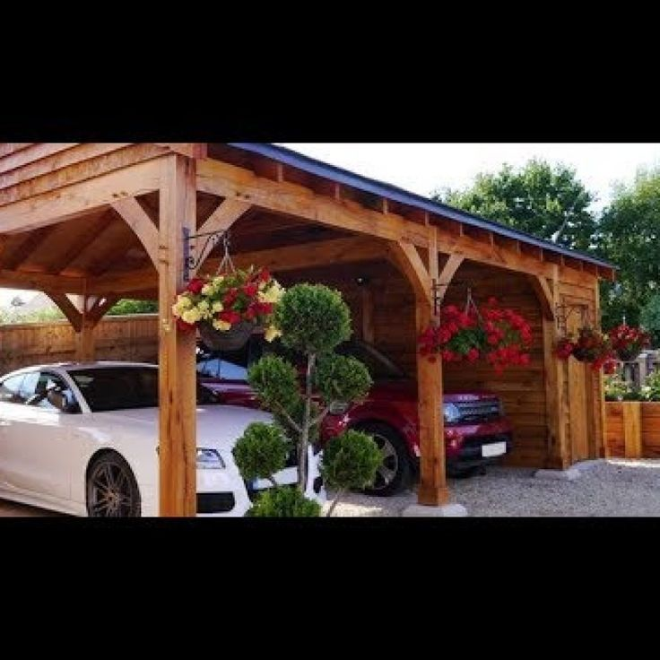 Carport Ideas Attached To House Uk in 2020 Carport