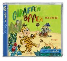 Giraffenaffen - Wir sind da! (CD) - Stronk / Herzberg / Kaminski u.a. (ab 4 Jahren)