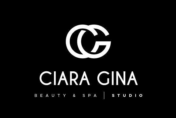 C G Letter Logo Cg Monogram Fashion Letter Logo Lettering Monogram Fashion