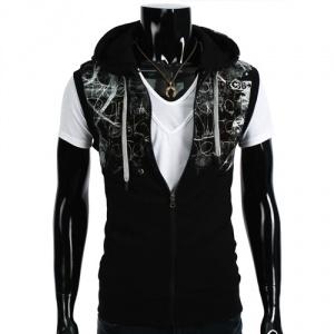 Vest Paris (Svart) - Rockdenim - $499nok