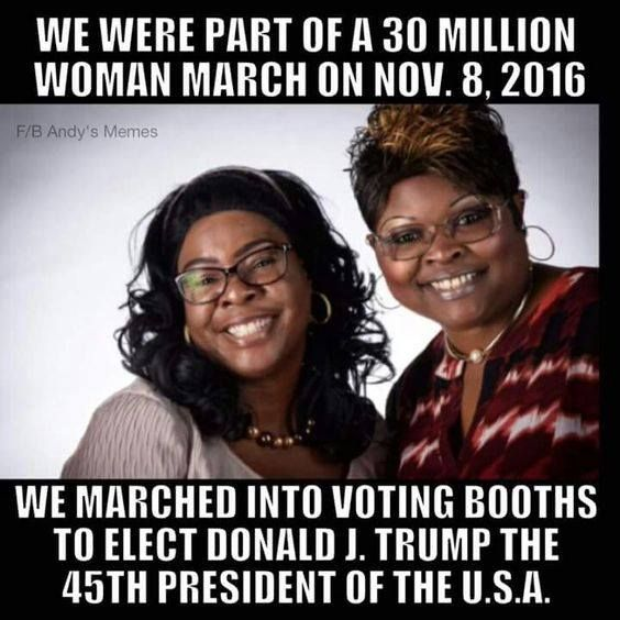 """Watched them through the election and on fox this morning...love'em for standing up against what they were conditioned to vote for and doing the """"right"""" thing!"""