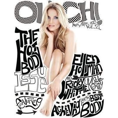 ouch magazine -Ellen Hollman Vol.21 - OUCH-O-HOLICS SHOP OBSESSIONS