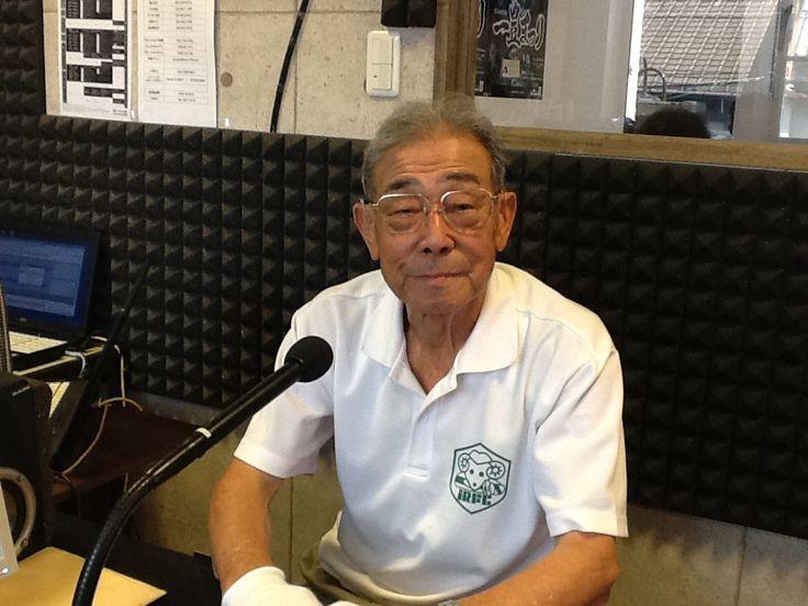 今日のアイタイムゲストは一宮市ラグビー協会 浅井 武さんに予科練についてお話しを伺いました