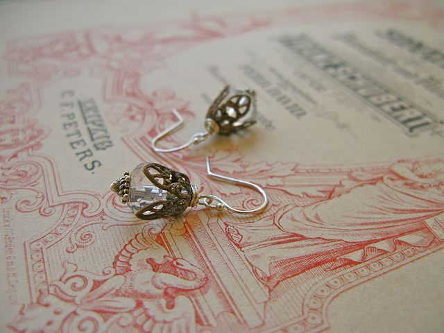 Fine van Brooklin, Fair Maiden earrings http://finevanbrooklin.com/