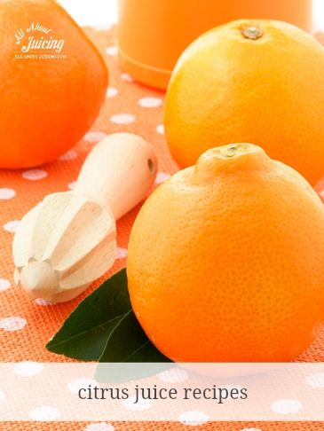 citrus juice recipes (my daughter can tolerate citrus most of the time, though many GPers can't. If you are one of the lucky ones like my daughter, be sure to strain before serving)