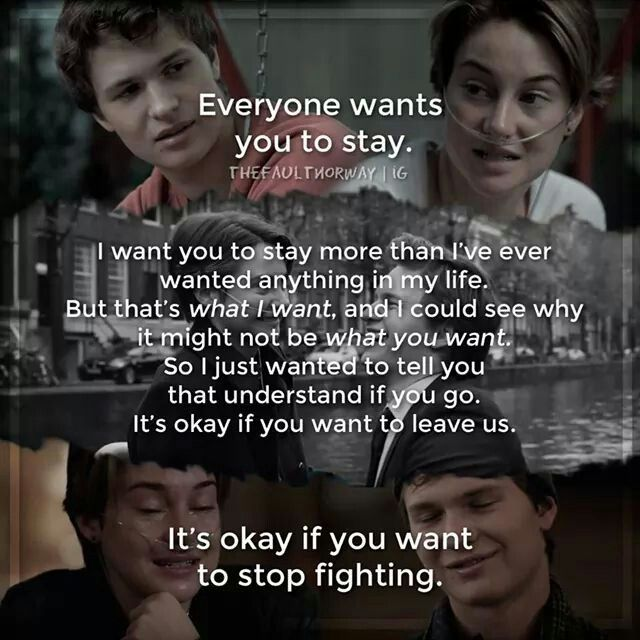 The Fault In Our Stars Quotes Movie: SPOILER ALERT. *feels* :'( Too Many Feels *sobs In Dark
