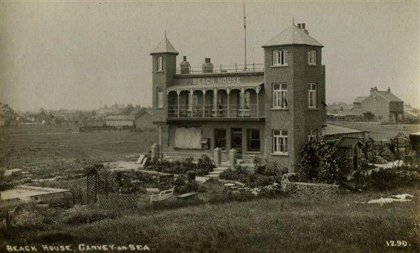 The beach house c1920's - Canvey Island