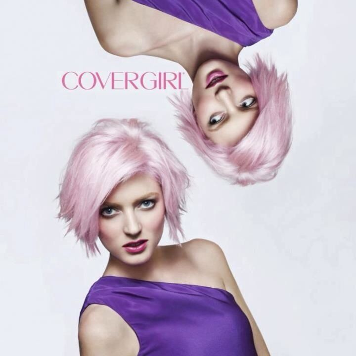 Sophie Sumner on America's Next Top Model ANTM Cover Girl Ad